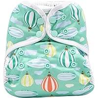 Funda para pañales de bebé, reutilizable, lavable, ajustable