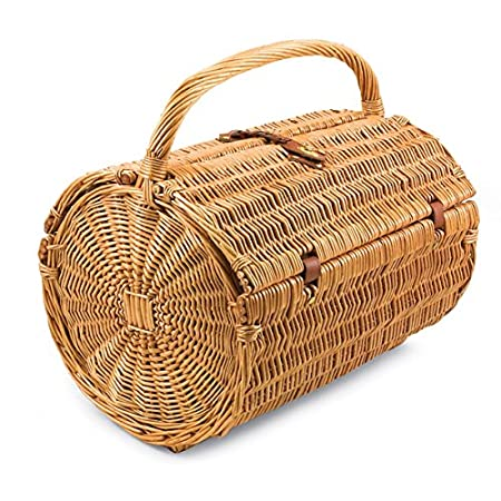 PLAYBERG Picnic Basket with Accessories - Servings for 4