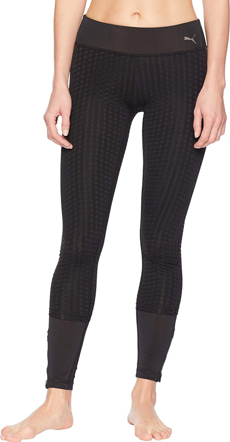 PUMA Women's Luxe Mail Rapid rise order Mesh Tight