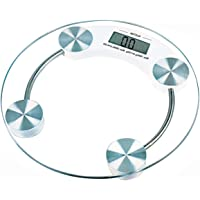 Atom AL510 Aliston Digital Personal Weighing Scale - 6mm Thick, White
