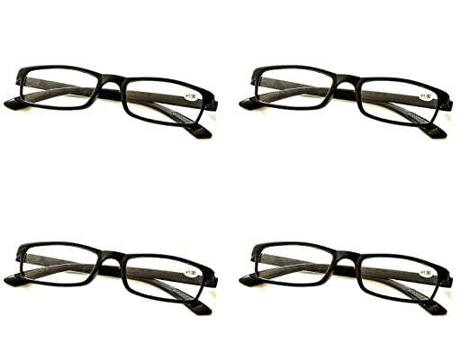 43c419a5ab46 4 x PAIRS with FREEPOST Bendable TR90 Reading Glasses
