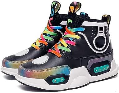 LED Zapatos Niño y Niña - Colores USB Carga Zapatos para Correr - Deporte de Zapatillas con Luces Mejores Regalos, Zapatilla Antideslizante para Hombre y Mujer Certificación CE: Amazon.es: Hogar