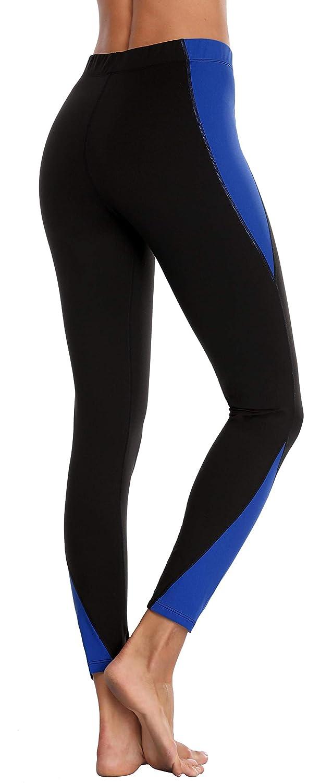 Black bluee Attraco Women's Rita Tiered Tankini Set Tie Front Swimwear Two Piece Swimsuit