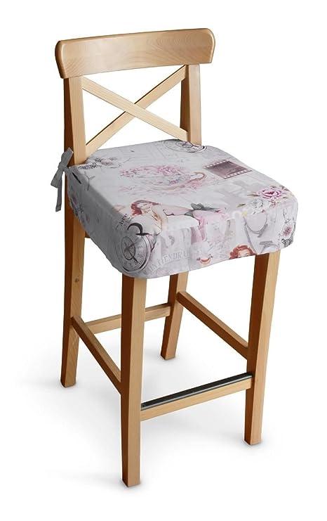 Dekoria Rivestimento cuscino per sedia sgabello da bar Ingolf ...