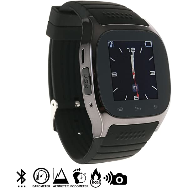 Silica DMN232 - Smartwatch timesaphire BT Black, Color Negro ...