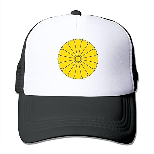 4aa3e4f21ce Image Unavailable. Image not available for. Color  Japanese National Emblem  Mesh Hat Cool Adjustable Snapback ...