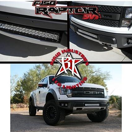 Amazon rigid 20 led light bar ford f150 raptor lower grille rigid 20quot led light bar ford f150 raptor lower grille kit aloadofball Gallery
