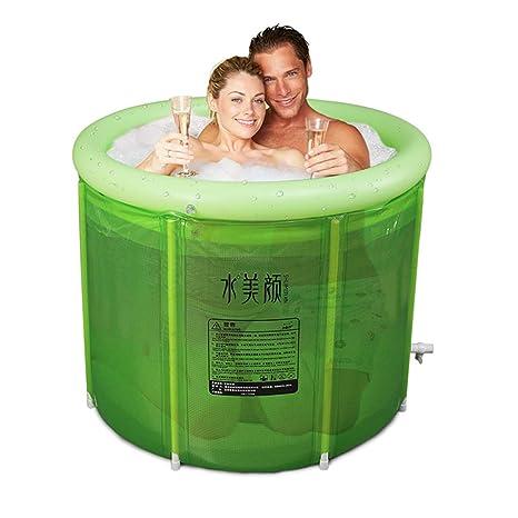 Amazon.com: Good home - Bañera inflable doble para adultos ...