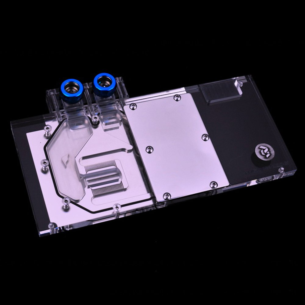 Amazon.com: B BYKSKI RGB VGA GPU Water Cooling Block for Colorful igame GTX 1080 Ti Vulcan X OC: Computers & Accessories