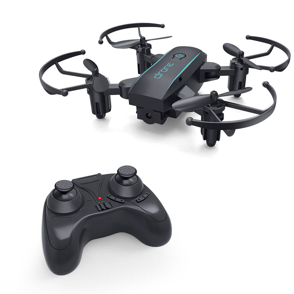Ciho X01H Mini Foldable RC Drone Altitude Hold Headless Mode 3D Flip Kids Gift Protable Pocket 2.4GHz Nano Quadcopter Easy to Fly Beginners Kids Adults
