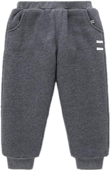 CZYTN - Pantalones de chándal para niño con Pantalones de Felpa de algodón para Invierno: Amazon.es: Ropa y accesorios