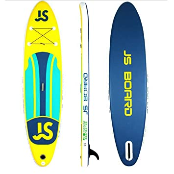 Jsqianchen 12Soft Top Tabla de Surf Inflable Tabla de Surf Junta de Sup Junta