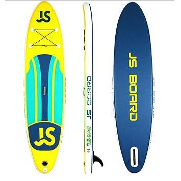 Jsqianchen 12Soft Top Tabla de Surf Inflable Tabla de Surf Junta de Sup Junta