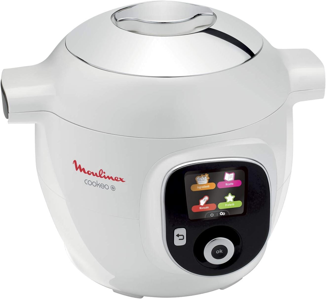 Moulinex Cookeo - Robot de cocina inteligente Cookeo +: Amazon.es: Hogar