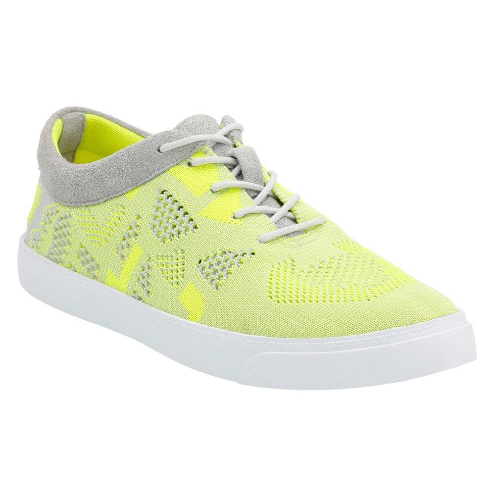 CLARKS Women's Glove Glitter Fashion Sneakers B01C3EX8CW 9.5 B(M) US Yellow Neon Knit