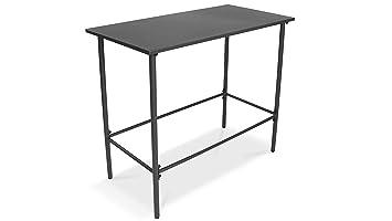 Table Haute De Jardin.Oviala Table Haute De Jardin En Metal Amazon Fr Jardin