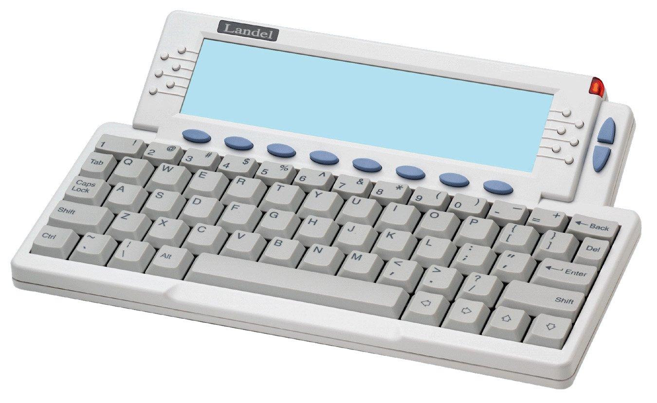 Landel Comment Catcher LT303CC In-Store Kiosk & Web App for Customer Surveys & Job Apps Typewriter
