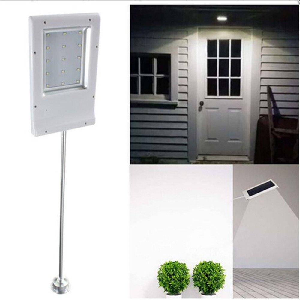 1.8W Solar Powered 12 LEDs Panel Street Light Ip65 Waterproof Anti-corrosion Lighting Sensor Outdoor Path Wall Spotlight Emergency Lamp Luminaria