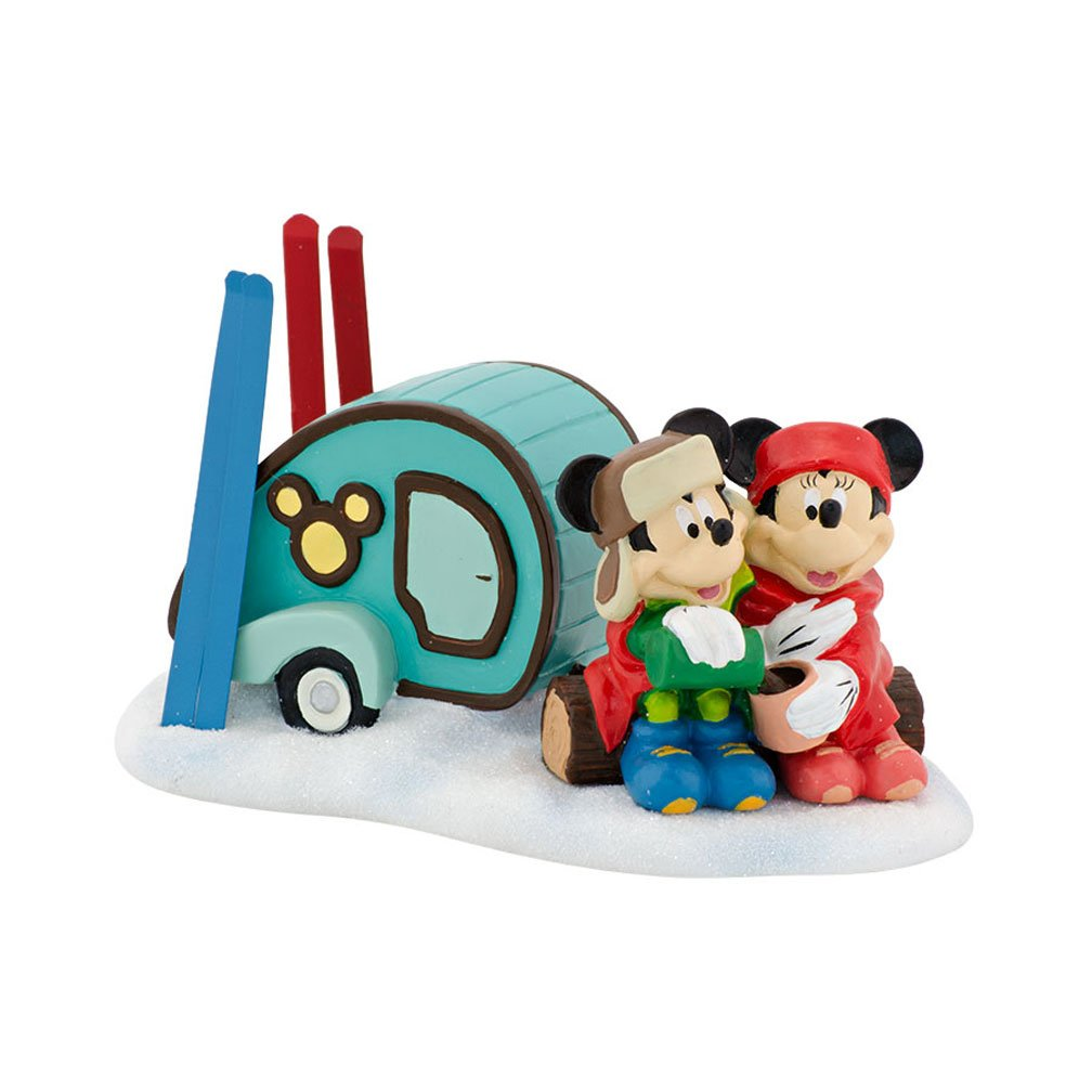 Department 56 Mickey's Christmas Village Mickey and Minnie Go Camping