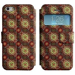 LEOCASE modelo lindo Funda Carcasa Cuero Tapa Case Para Apple iPhone 5 / 5S No.1003999