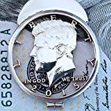 2015 Kennedy JFK USA Half Dollar Cut Coin Mans Money Clip