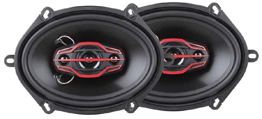 Dual DLS574 5X7-Inch 4-Way 160-Watt Speakers