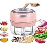 VOUM Mini Electric Food Chopper, Powerful Cordless Electric Vegetable Chopper/Fruit Chopper/Garlic/Vegetable/Meat etc…