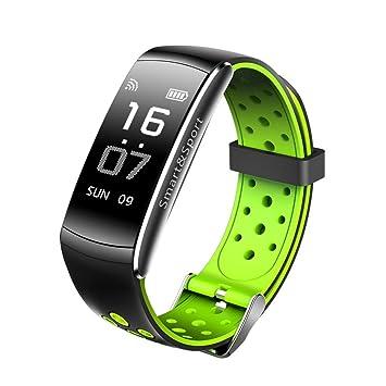 Btruely Herren Pulsera Actividad Inteligente Impermeable, Fitness Tracker Actividad Reloj Monitor de Frecuencia Cardiáco Pulsera