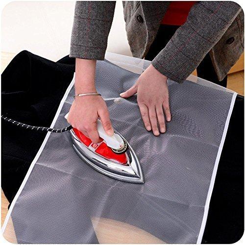 ve Ironing Scorch-Saving Mesh Pressing Pad Mesh Cloth ()