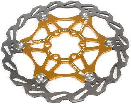geshiglobal Freno de Disco de Bicicleta MTB DH Flotante rotores ...