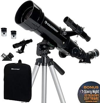 Celestron 70mm Travel Scope Portable Refractor Telescope
