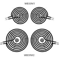 4Pack Primeswift Range Surface Element Kit Include 2 x WB30M1 /& 2 x WB30M2 Compatible with General Electric AP2634728,PS243867,AP2634727
