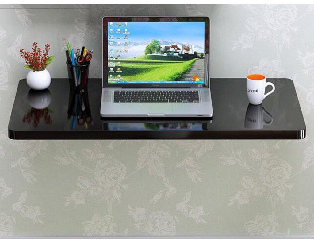 折りたたみテーブルシンプルな壁テーブルダイニングテーブルウォールテーブル壁掛けコンピュータデスクウォールテーブル、黒、60 * 40センチメートル、110 * 40センチメートル 折畳式の (サイズ さいず : 60*40cm) B07D8VPH4Y 60*40cm 60*40cm