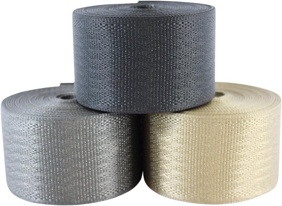 SGT KNOTS Belt Webbing 2 inch x 10 feet (Grey)