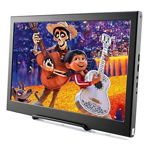 Elecrow 13.3 Inch IPS Raspberry Pi Display 1920X1080 Resolution Dual HDMI Portable Monitor PS3 PS4 Gaming Screen with Build-In Speakers for Raspberry Pi WiiU Xbox 360 Windows 7/8/10