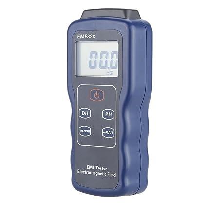 Ywlanlantrading Medidor de Intensidad electromágnetica de Baja fricción del probador del EMF Medidor de Intensidad del