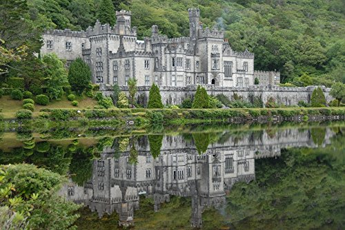 Home Comforts LAMINATED POSTER Architecture Ireland Galway Kylemore Abbey Poster Print ()