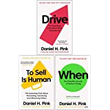 Daniel H. Pink The Surprising Truth 3 Books Collection Set (When: The Scientific Secrets of Perfect Timing ,Drive: The Surpri
