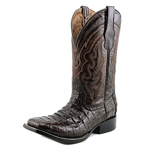 10b3b481743 Corral Mens L5009 100% Leather/Caiman Boot