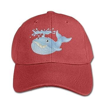 Gorras de béisbol Divertidas Sombreros Cute Cartoon Whale Color ...