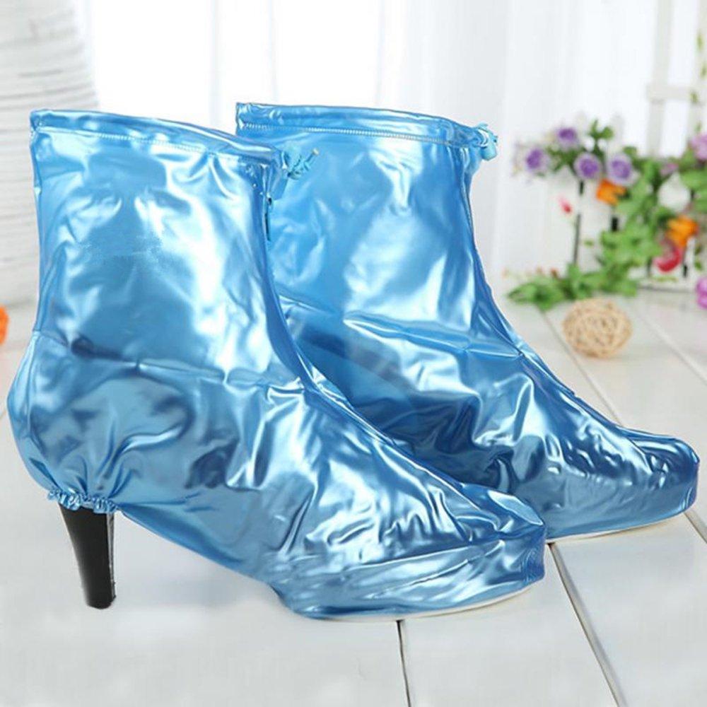 Tacco Donna Da Zhbotaolang scarpe Copriscarpe Pioggia Col Stivali Xq5PT0