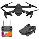 Drone with Camera for Kids and Adults | 720P/1080P/4K HD Wide Angle FPV Live Video | RC Quadcopter Helicopter One Key Start,