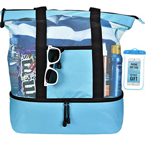 Beach Insulated Picnic Cooler Zipper product image