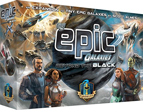 Tiny Epic Galaxies: Beyond the Black Space Board Game - Expand Your (Space Themed Group Games)