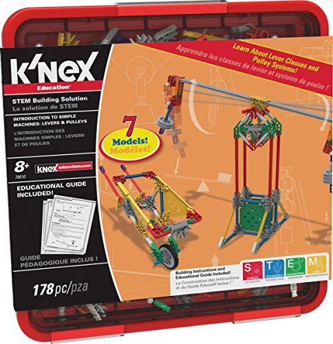 (K'NEX Education Intro to Simple Machines Levers and Pulleys Set by K'Nex)
