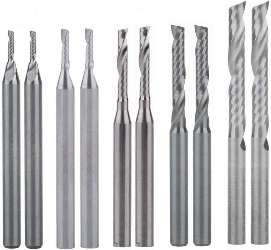 Free Shipping 1.5MM Carbide End Milling CutterCNC Router Bits End mill for PC..