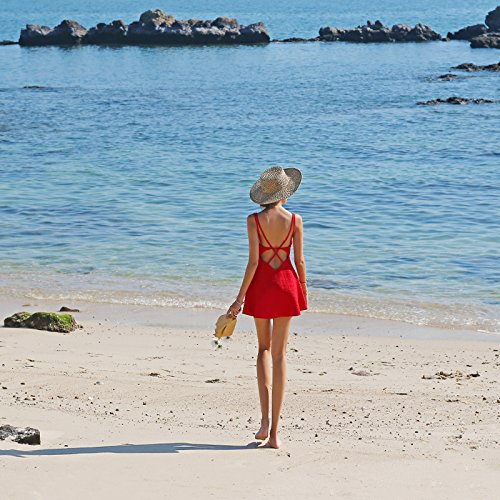 Playa Noche De Casual Vestido Vestido red Meizizivestido De MeiZiZi aSTpqH