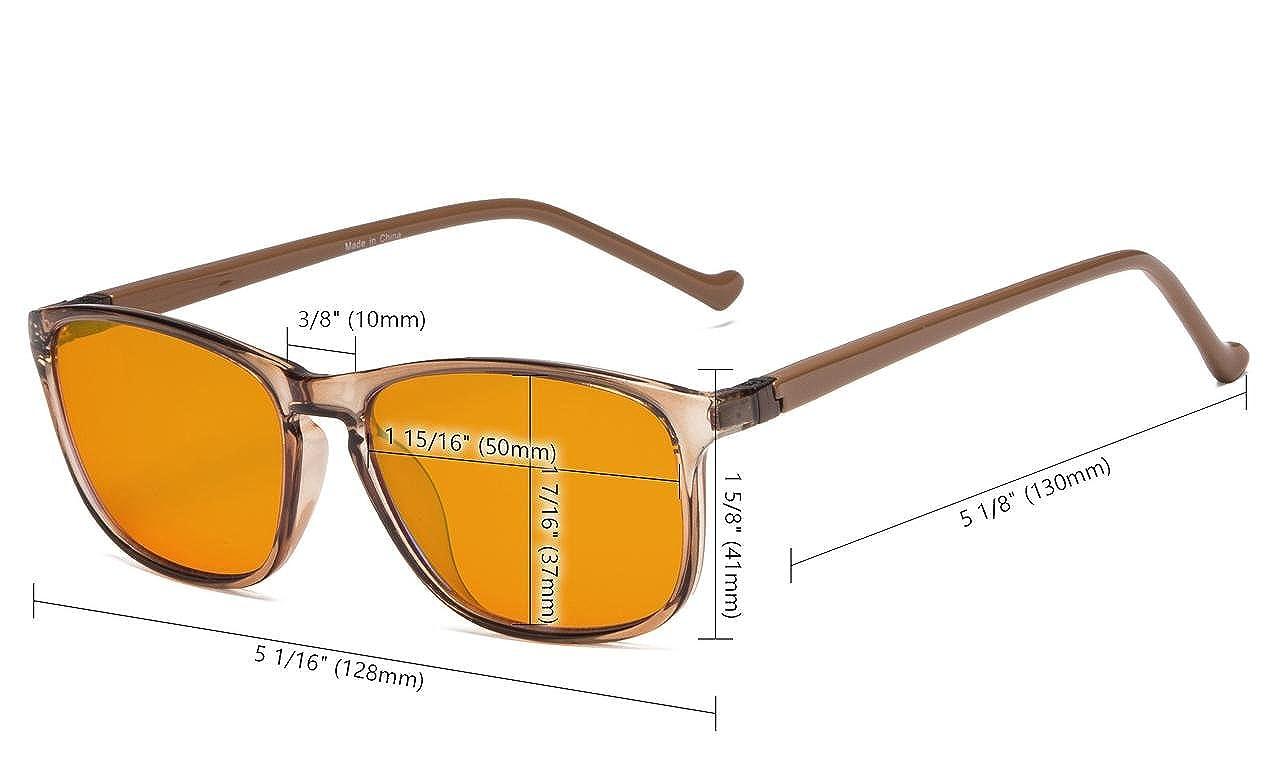 84f79c8857 Eyekepper lunettes anti lumiere bleue a 97% pour des enfants, verre orange  foncee Lunettes anti-reflet pour ordinateur (blanc): Amazon.fr: Vêtements  et ...