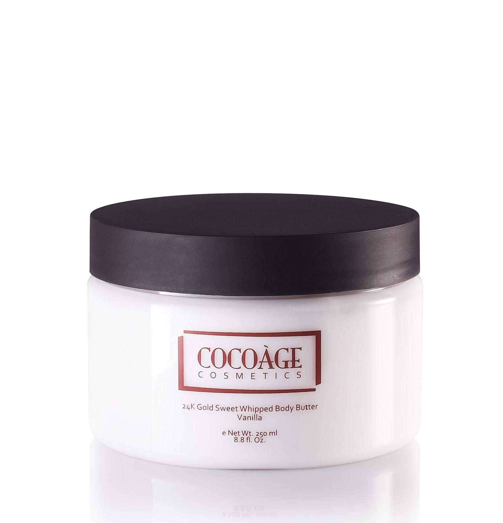 Cocoàge Cosmetics | 24K Gold Sweet Whipped Body Butter - Vanilla