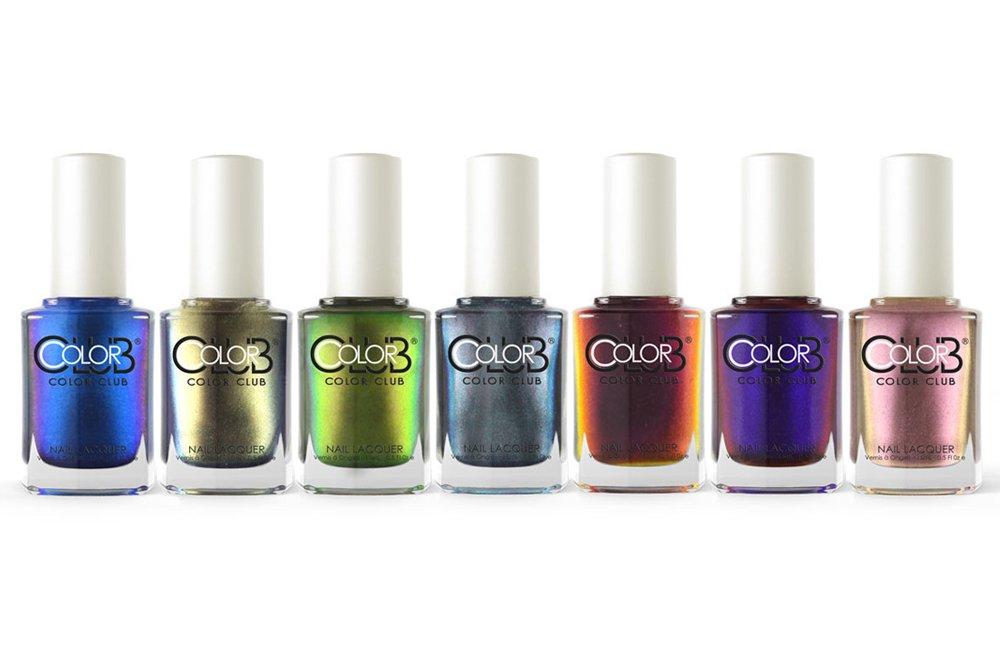 Amazon.com: Color Club Oil Slick Collection Fall 2015 Nail Lacquer ...